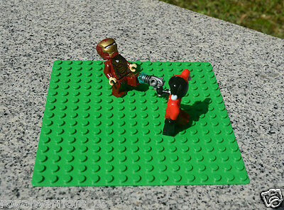 x1 NEW for Lego Green Base plate Base board figure Brick Building 16 x 16 Dots