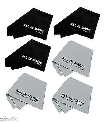 All In Magic® 6x Chiffon MicroFibre nettoyage Spécial Optique 15cm x 18 cm