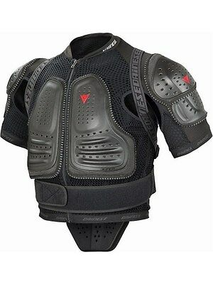 Dainese Black 2016 Manis Performance - Short Sleeved MTB Protection Jacket