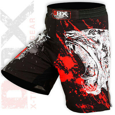 MMA Grappling Shorts UFC Kick Boxing Muay Thai Fighter Short Mix Cage Fight Pant
