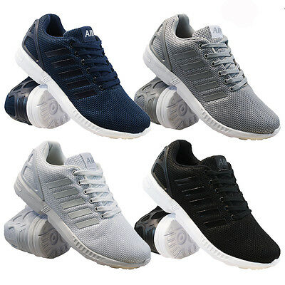 Mens Running Trainers Fashion Casual Lace Gym Walking Sports Shoes Boys Size Zx