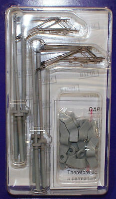 OO gauge electric layout railways - 10 Catenary Masts - Dapol OOCAT1 - free post