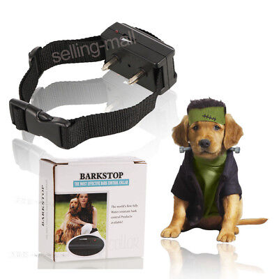 Dog Training Collar Anti Bark No Barking Tone Shock Control For Small Medium Pet
