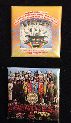 The Beatles Band Pin Set Magical Mystery Tour Lonely Hearts Club Band FREE SHIP