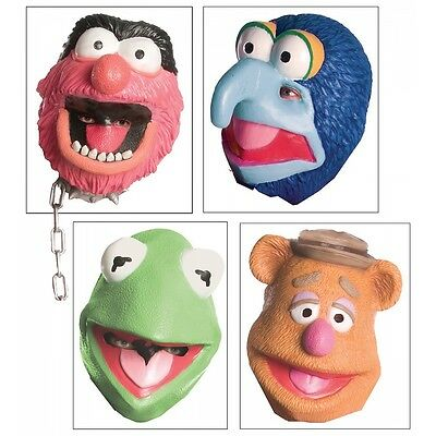 The Muppets Mask Costume Accessory Adult The Muppets Halloween