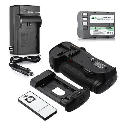MB-D10 Battery Grip for Nikon D300 D300S D700 D900 + EN-EL3e Battery + Charger
