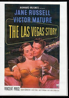The Las Vegas Story - Jane Russell & Victor Mature All Region Dvd