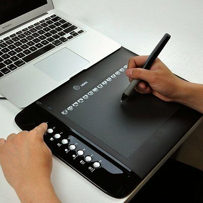 """UGEE M708 Ultra Slim Professional Drawing Graphics Tablet 10x6"""" 5080 LPI 230 RPS"""