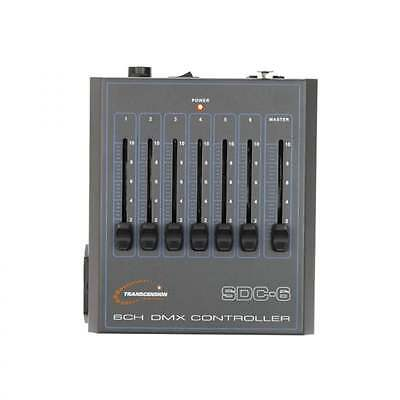 Transcension SDC-6 6 Channel DMX Lighting Controller