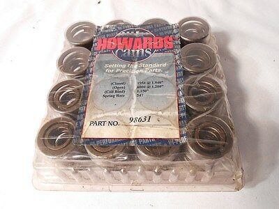 """Howards Cams Valve Springs 98631 Set of 16 New Stock for BIG BLOCKS 1.54"""" O.D."""