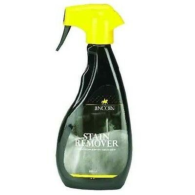 LINCOLN STAIN REMOVER (500ML) horse pony grooming showing stubborn dirt 3994