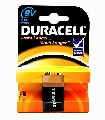 3 x Duracell 9V PP3 Plus Power Batteries, Smoke Alarms (LR22, MN1604, 6LR61)
