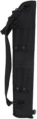 Black Tactical Law Enforcement Shotgun Scabbard