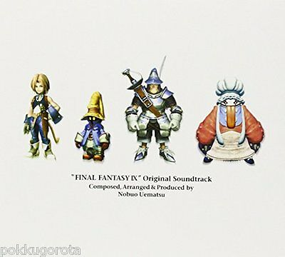 Final Fantasy FF IX 9 Original Soundtrack 4 CD Music JAPAN