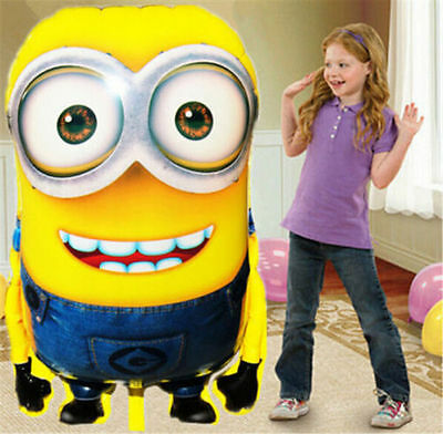 NEW Minions Balloons Despicable Me - Double eyes Minion Dave - Large Size Party