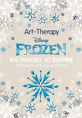 Coloring Book Disney Frozen Creativity Relaxation Adults Kids Stress Art Therapy