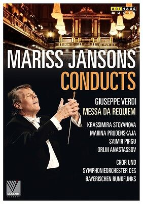 Giuseppe Verdi - Jansons conducts Messa da Requiem, 1 DVD