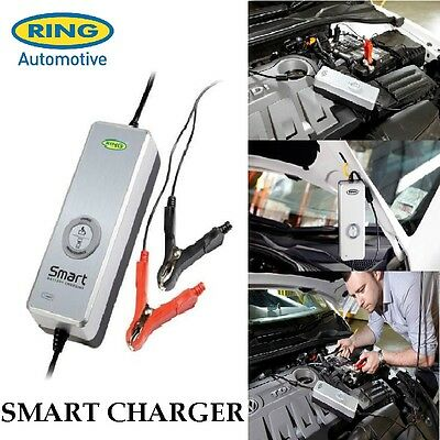 12v 4a Smart Battery Car Charger Trickle Charge Including Start Stop Ring RSC604