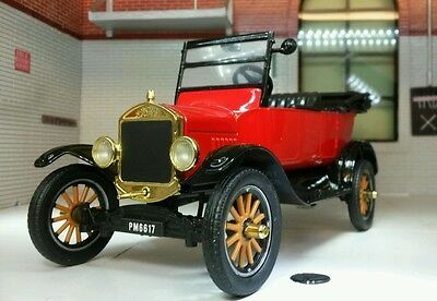 G LGB 1:24 Scale 1925 Ford Model T Tourer Vintage Car Railway Diecast Motormax