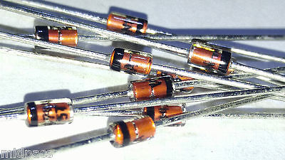 20Pcs 1N4744A 1N4744 Do-41 1W 15V 5% Do-41 Zener Diode
