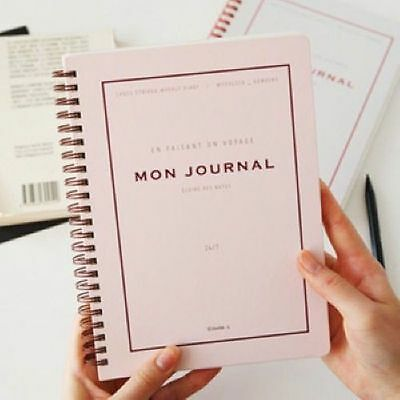 HIMORI Diary Planner Organizer Scheduler for Any Year_INVITE.L_Mon Journal Ver.2