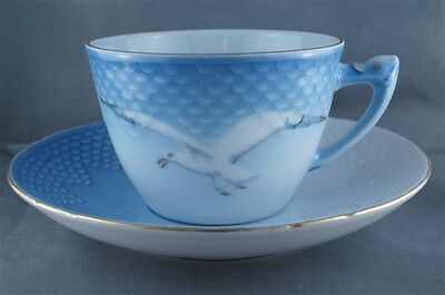 B and G Bing and Grondahl Seagull Cup and Saucer #103