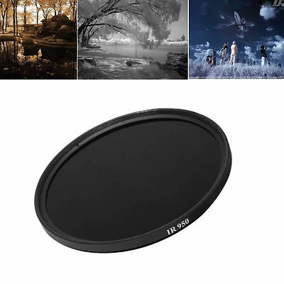 Special effects Infra-red Filter 55mm 950nm Pass X-Ray for DSLR Camera Lens