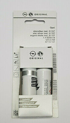 (53,70€/100ml) Opel Lackstift Starsilber III 157 2AU 6772157 Z157 Pinsel Stift