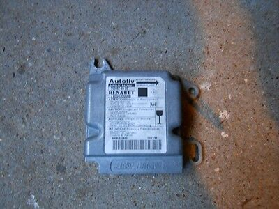 renault scenic calculateur airbag