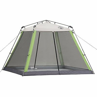 Instant Canopy Screened Shelter Tent Camping Beach BBQ Sporting Event 10x10 NEW