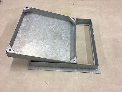 MANHOLE COVER  FOR BLOCK PAVING  600X600x80mm recessed