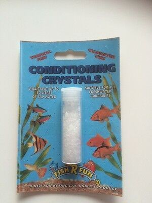 Conditioning Crystals for coldwater and tropical fish tanks / bowls