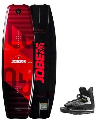 Wakeboard 138 avec chausses taille unique - Jobe Logo 138 & Maze Bindings set