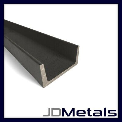 Mild Steel Channel 76x38mm, 100x50mm and 51x25mm (Various Lengths)