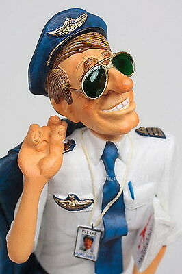 "GUILLERMO FORCHINO Professionals ""THE PILOT"" Comic Art Figur - FO85523 NEU !!"