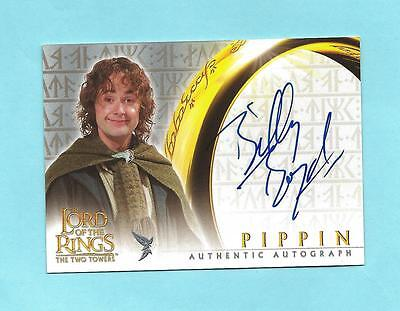 Lord of the Rings The Two Towers Pippin Billy Boyd Autograph Auto