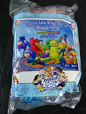 Rugrats in Reptarland Burger King Toys (Snail Toy)