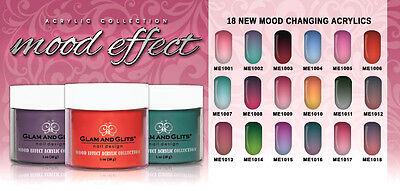 MOOD EFFECT Acrylic Powder - The first mood change color - We combine shipping