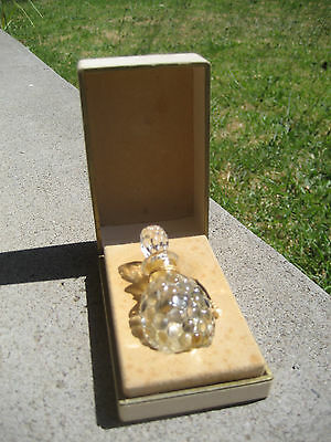 Rare Vintage Jean Patou Colony Perfume Bottle Collectable