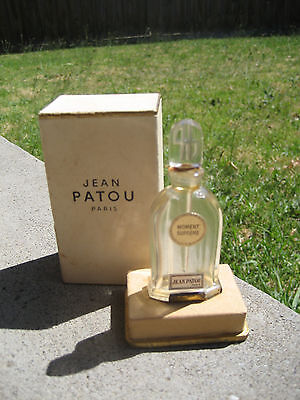 Rare Vintage Jean Patou Moment Supreme Perfume Bottle Collectable