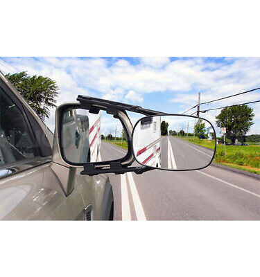 Towing Mirror Multi Fit 4wd Caravan Single Universal Heavy Duty Clip On
