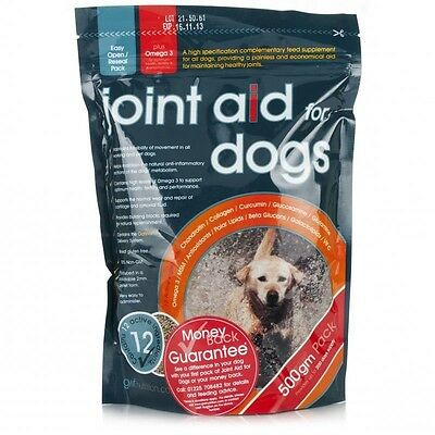 GWF Nutrition Joint Aid For Dogs 500g, Promotes Flexibility and Mobility