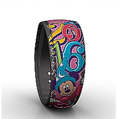 Disney World Parks Sorcerer Mickey Mouse 2016 Pink Magicband Link It Later New