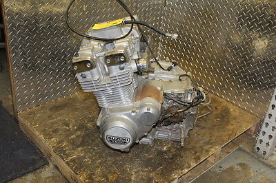 1982 Suzuki Gs750E Chain Drive Engine Motor Unknown Miles