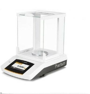 Sartorius Practum313-1S Analytical Lab Balance 310 g x 0.001 g,Touch Screen,New