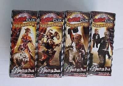 HorrorClix Heroclix Freakshow Factory Sealed Brick = 12 Boosters