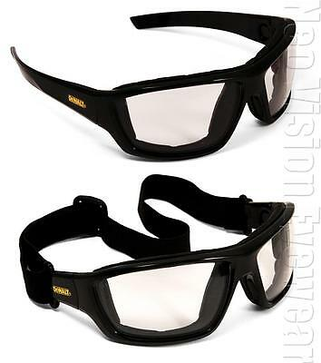 Dewalt Converter Indoor Outdoor Lens Anti Fog Safety Glasses Hybrid Goggles Z87+