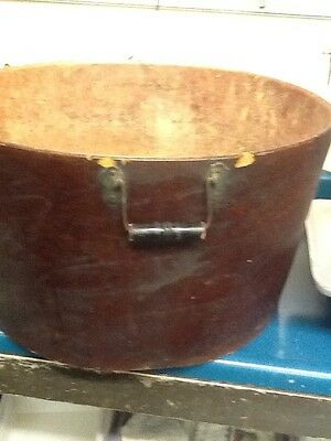 UNITED INDURATED FIBRE Co. Wash Bucket. 1890's. EXTREMELY RARE!!!
