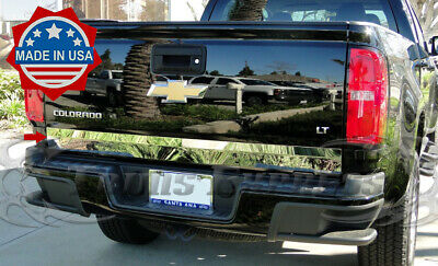 2013-2018 Chevy Colorado/Canyon Tailgate Trim Stainless Steel Accent Cover Plain