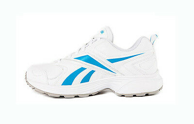 Genuine Women's Reebok Evaluate Trainer - White/Grey/Blue